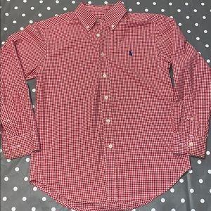 Ralph Lauren Boys Button down shirt size M